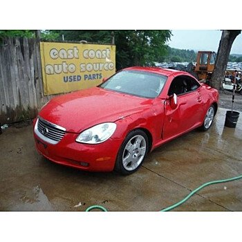 2002 Lexus SC 430 Convertible for sale 100783835