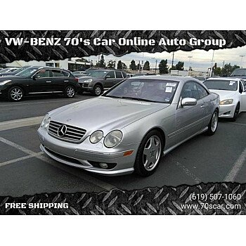 2002 Mercedes-Benz CL55 AMG for sale 101187906
