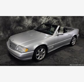 2002 Mercedes-Benz SL500 for sale 101450109