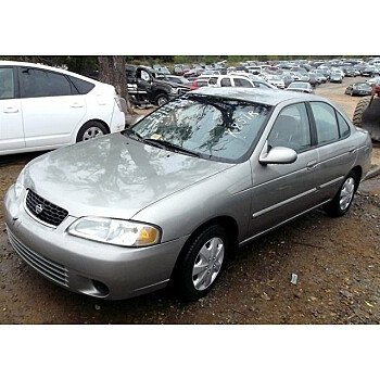 2002 Nissan Sentra for sale 101002089
