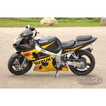 2002 Suzuki GSX-R600 for sale 200800734