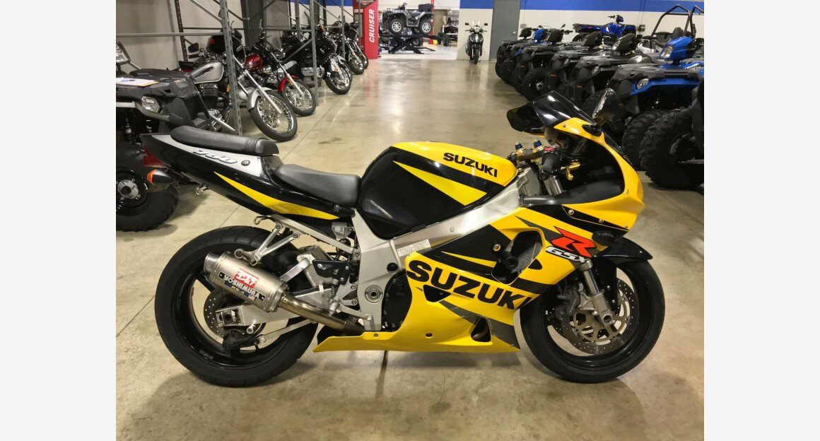 2002 Suzuki GSX-R750 for sale 200647939