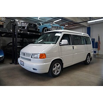 2002 Volkswagen Eurovan MV for sale 101589742