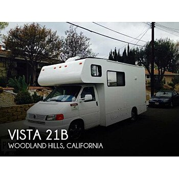 2002 Winnebago Vista for sale 300181981
