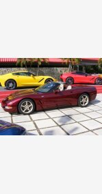 2003 Chevrolet Corvette Convertible for sale 101088773
