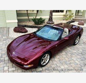 2003 Chevrolet Corvette Convertible for sale 101099861