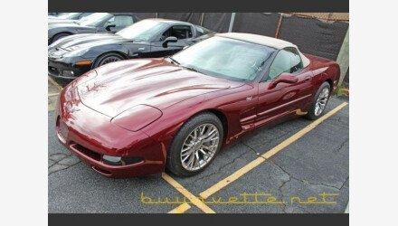 2003 Chevrolet Corvette Convertible for sale 101300526