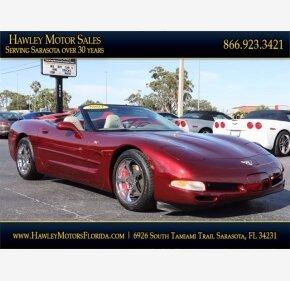 2003 Chevrolet Corvette for sale 101444378