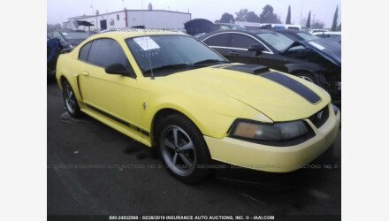 2003 Ford Mustang Mach 1 Coupe for sale 101103574