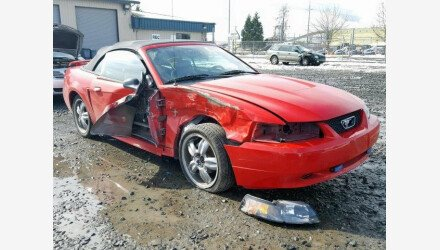 2003 Ford Mustang Convertible for sale 101122172