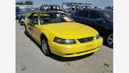 2003 Ford Mustang Convertible for sale 101128261