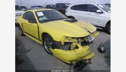 2003 Ford Mustang Mach 1 Coupe for sale 101223215