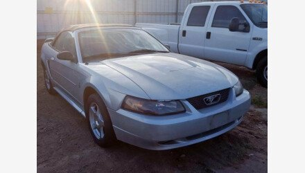 2003 Ford Mustang Convertible for sale 101224407