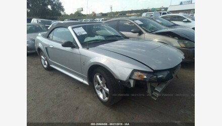 2003 Ford Mustang Convertible for sale 101230400