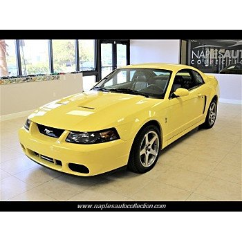 2003 Ford Mustang Cobra Coupe for sale 101238308