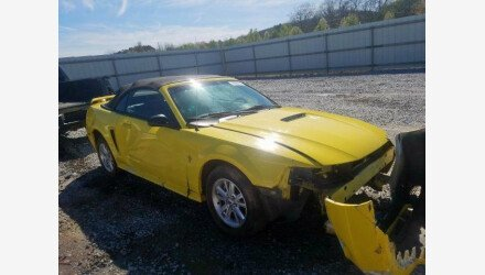 2003 Ford Mustang Convertible for sale 101328218