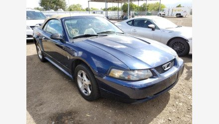 2003 Ford Mustang Convertible for sale 101329441