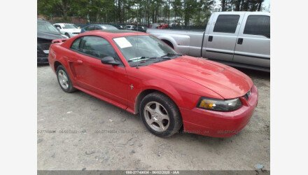 2003 Ford Mustang Coupe for sale 101337688