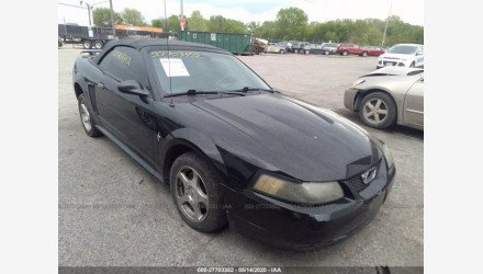 2003 Ford Mustang Convertible for sale 101350167
