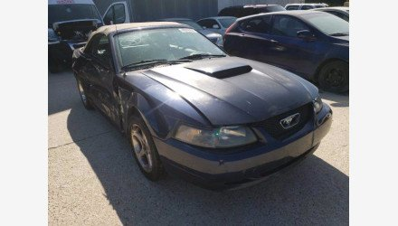 2003 Ford Mustang GT Convertible for sale 101382285