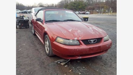 2003 Ford Mustang Convertible for sale 101413084