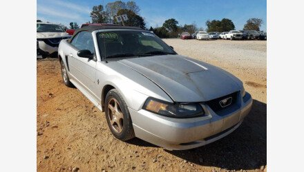 2003 Ford Mustang Convertible for sale 101413095