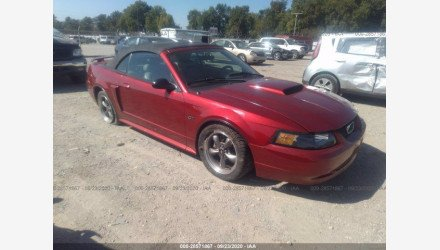 2003 Ford Mustang GT Convertible for sale 101438051