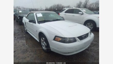 2003 Ford Mustang Convertible for sale 101440743