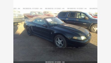 2003 Ford Mustang Convertible for sale 101440745