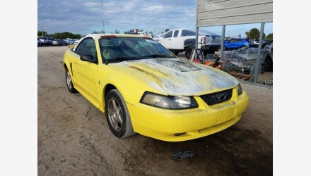 2003 Ford Mustang Convertible for sale 101468695