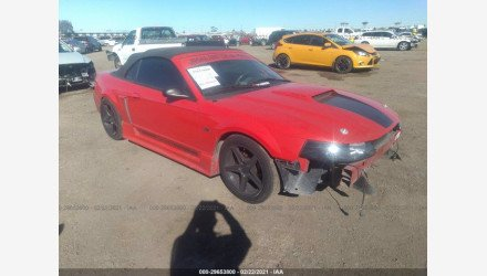 2003 Ford Mustang GT Convertible for sale 101493509