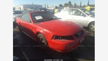 2003 Ford Mustang Convertible for sale 101495083