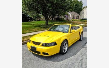 2003 Ford Mustang Cobra Convertible for sale 101359916