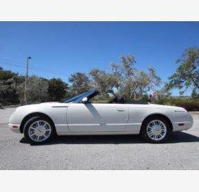 2003 Ford Thunderbird for sale 100995824