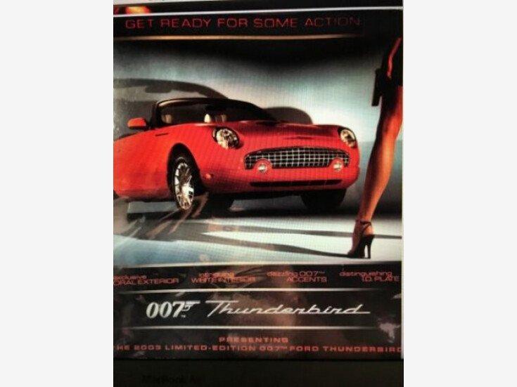 2003 Ford Thunderbird for sale 101210767