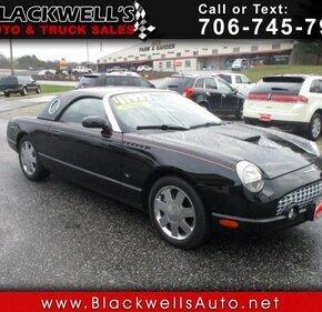 2003 Ford Thunderbird for sale 101300087