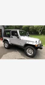 2003 Jeep Wrangler 4WD Rubicon for sale 101419877