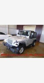 2003 Jeep Wrangler 4WD SE for sale 100982687