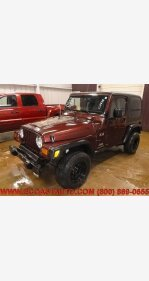 2003 Jeep Wrangler 4WD X for sale 100994982