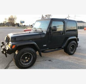2003 Jeep Wrangler 4WD X for sale 101050525