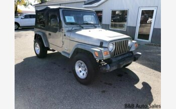 2003 Jeep Wrangler 4WD SE for sale 101057838
