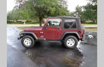 2003 Jeep Wrangler 4WD X for sale 101234986