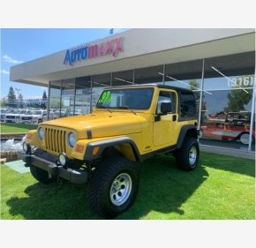 2003 Jeep Wrangler 4WD Sport for sale 101325520