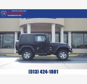 2003 Jeep Wrangler for sale 101342675