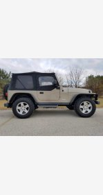 2003 Jeep Wrangler for sale 101428347