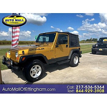 2003 Jeep Wrangler for sale 101605968