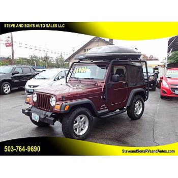 2003 Jeep Wrangler for sale 101611227