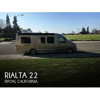 2003 Winnebago Rialta for sale 300187016