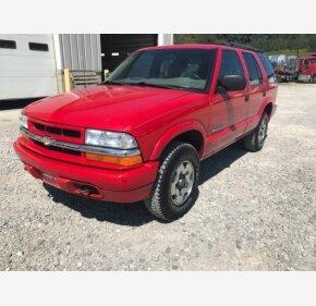 2004 Chevrolet Blazer 4WD 4-Door for sale 101206428