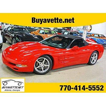 2004 Chevrolet Corvette Convertible for sale 101014491